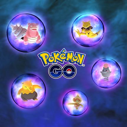 Los Pokémon de tipo Psíquico predominan en Pokémon GO