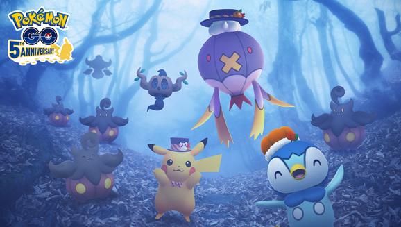 Pon un punto de miedo a tu diversión con Travesuras de Halloween 2021 en Pokémon GO