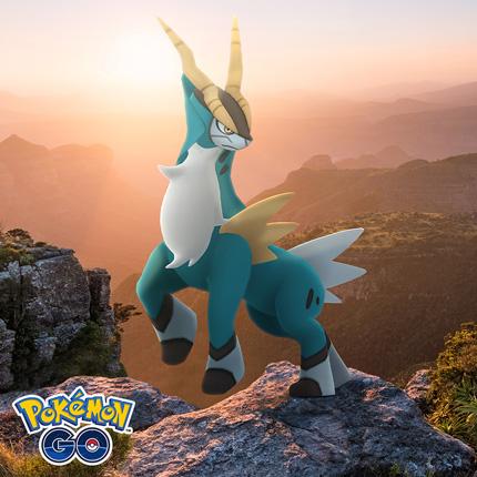 Combate contra Cobalion en incursiones de Pokémon GO