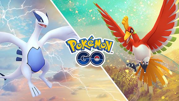 Lugia y Ho-Oh aterrizan de nuevo en <em>PokémonGO</em>