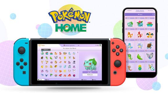 ¡Ya está aquí Pokémon HOME!