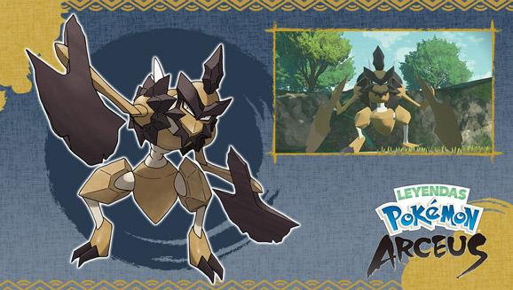 Novedades señoriales sobre Leyendas Pokémon: Arceus