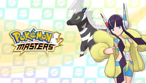 Camila y Zebstrika llegan a Pokémon Masters