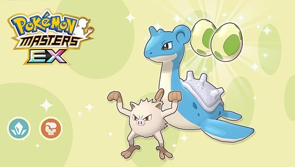 Sube de nivel con el Evento Huevo de tipo Hielo y tipo Lucha de Pokémon Masters EX