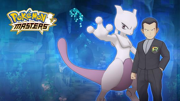 Giovanni y Mewtwo llegan a Pokémon Masters