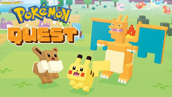 ¡<em>Pokémon Quest</em> llega a los dispositivos móviles!