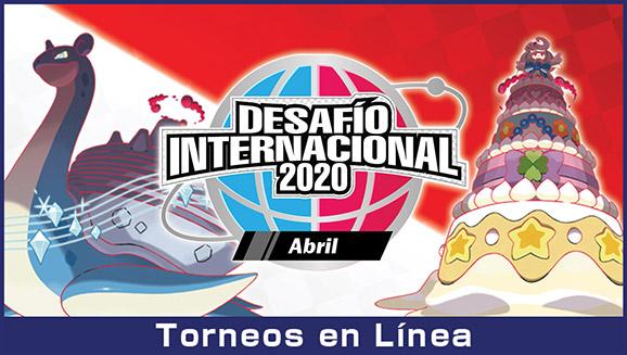 Participa en el Desafío Internacional de abril de 2020