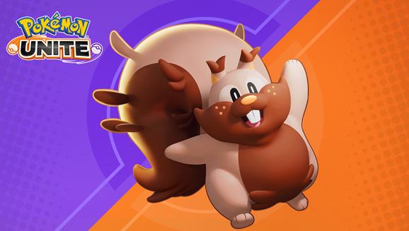 Greedent se abre camino en Pokémon UNITE