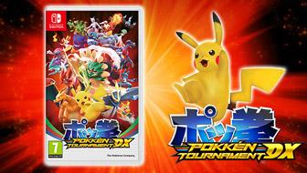 La batalla definitiva está a punto de comenzar: ¡llega Pokkén Tournament DX!