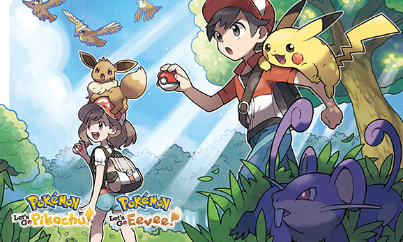 Consejos de primera para <em>Pokémon: Let's Go, Pikachu!</em> y <em>Pokémon: Let's Go, Eevee!</em>