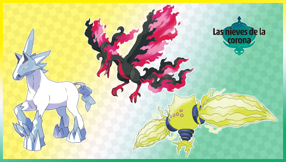Los Pokémon legendarios están listos para causar sensación en Pokémon Espada y Pokémon Escudo