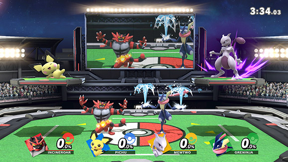 Disfruta de Pokémon en Super Smash Bros. Ultimate