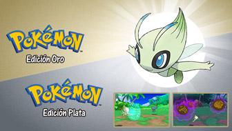 ¡Consigue un Celebi especial con Pokémon Oro y Pokémon Plata!
