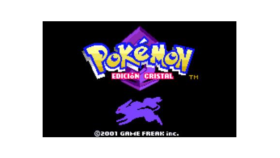 Pokémon Edición Cristal para la consola virtual
