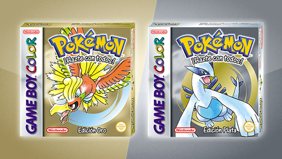 Pokémon Edición Oro y Pokémon Edición Plata