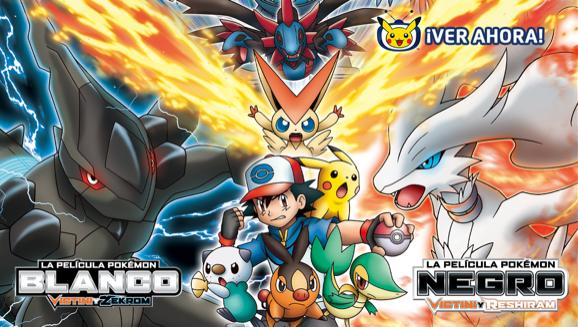 Elige a Reshiram o a Zekrom en estas dos películas en TV Pokémon