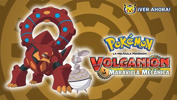 Volcanion arrasa en TV Pokémon