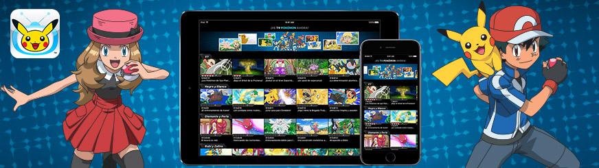 Aplicación TV Pokémon en dispositivos móviles