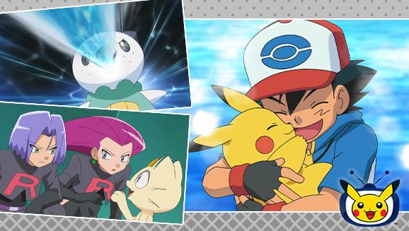 Viaja a la región de Teselia en TV Pokémon
