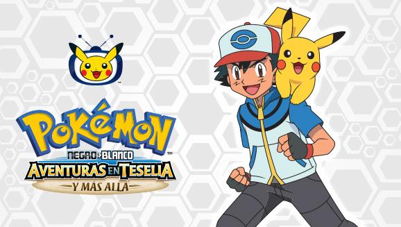 Ash llega a la Liga de Teselia en TV Pokémon