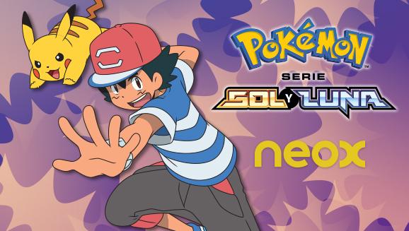 ¡Ve la serie Pokémon <em>Soly Luna</em> en Neox!