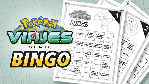 ¡Bingo! Haz que ver la serie Viajes Pokémon en Netflix se convierta en un juego