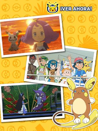 TV Pokémon: El recorrido insular de Alola