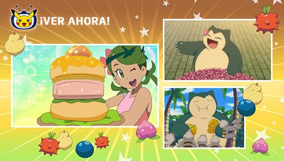 Disfruta de un buen festín con la serie Pokémon en TV Pokémon