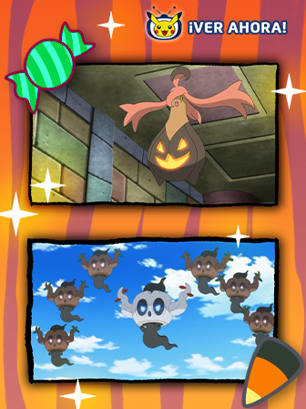 Fiesta fantasmal en TV Pokémon
