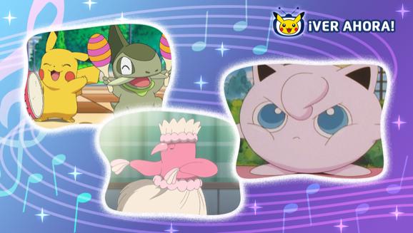 Siente el ritmo y celebra los 25 años de Pokémon en TV Pokémon