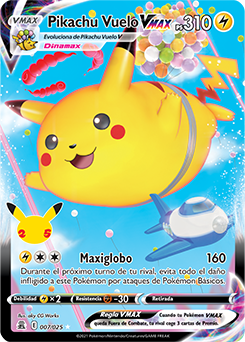 Pikachu Vuelo VMAX