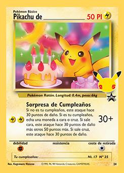 Pikachu de_____