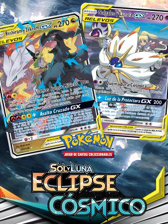 Pokémon y Entrenadores se unen para el eclipse cósmico