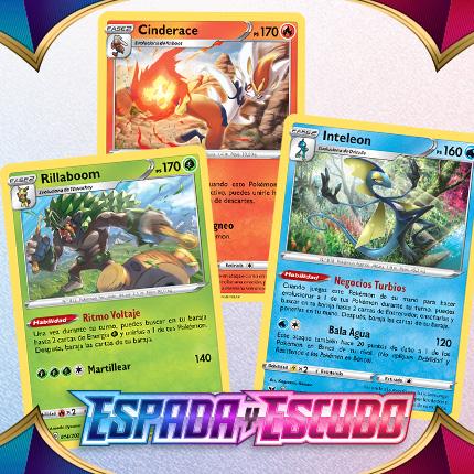 Los Pokémon de Galar se alinean para entrar en acción en JCC Pokémon