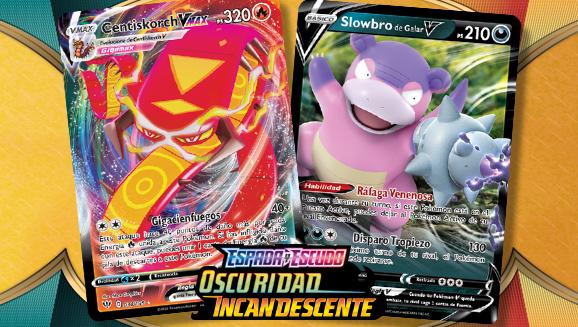 ¡Descubre nuevos Pokémon V y Pokémon VMAX!