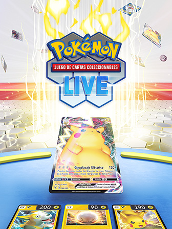 Lanzamiento de JCC Pokémon Live
