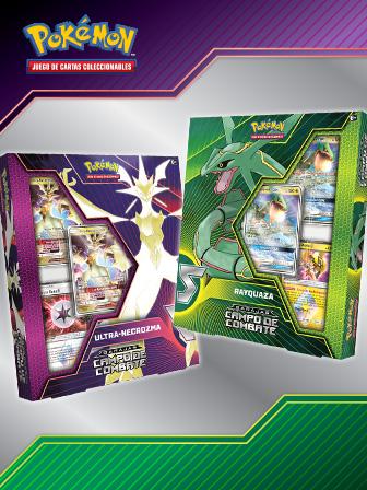 Un combate legendario de JCC Pokémon