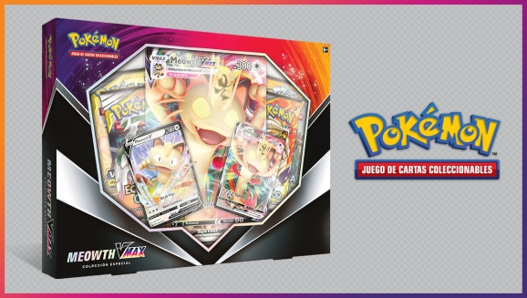 Meowth VMAX se ve imponente en JCC Pokémon