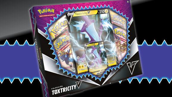 Disfruta al máximo con la colección Toxtricity V de JCC Pokémon