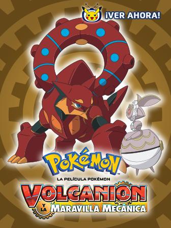Volcanion y la maravilla mecánica