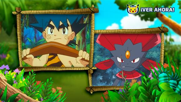 Te damos la bienvenida a la selva en TV Pokémon