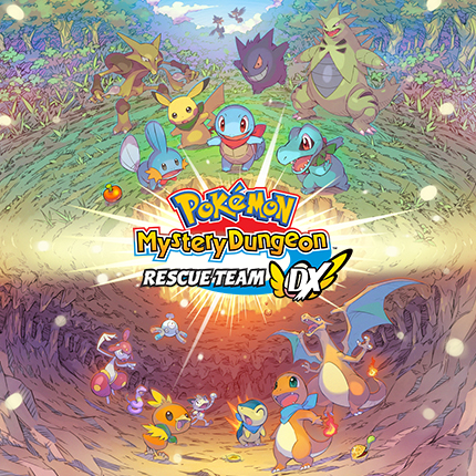 Pokémon Mystery Dungeon: Rescue Team DX on nyt saatavilla