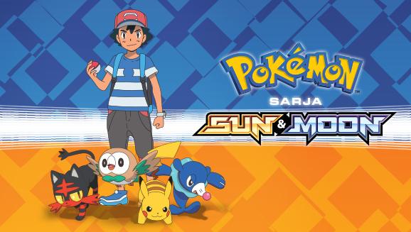 Katso <em>Pokémon-sarja Sun & Moon</em> Pokémon TV:stä