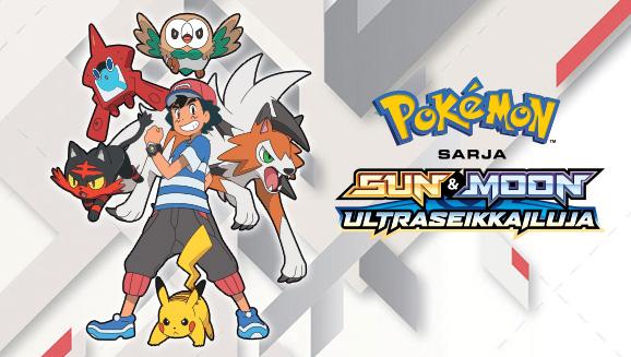 Katso <em>Pokémon-sarja: Sun & Moon – Ultraseikkailuja</em> Pokémon TV:stä