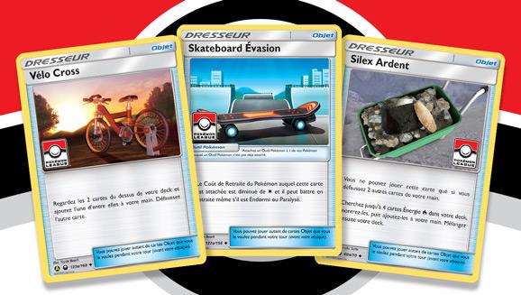 Les Ligues Pokémon regorgent de super cartes et de combats passionnants