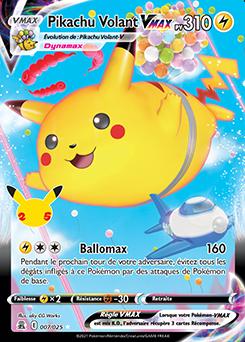 Pikachu Volant VMAX