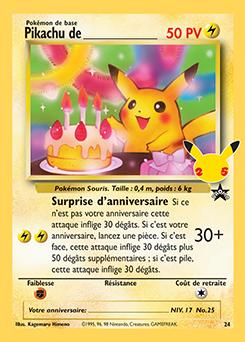 Pikachu de _____