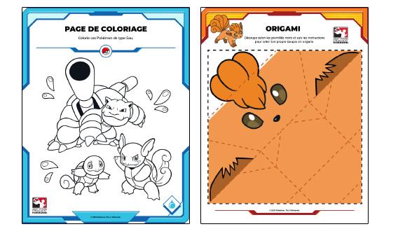 Des activités Pokémon amusantes pour les enfants