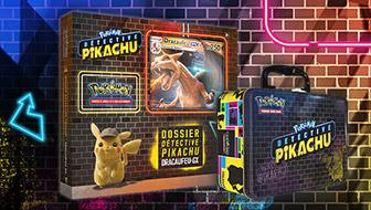 Un aperçu des produits de POKÉMON Détective Pikachu