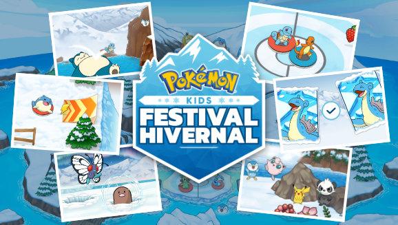 Amusez-vous cet hiver avec Pikachu et ses amis !